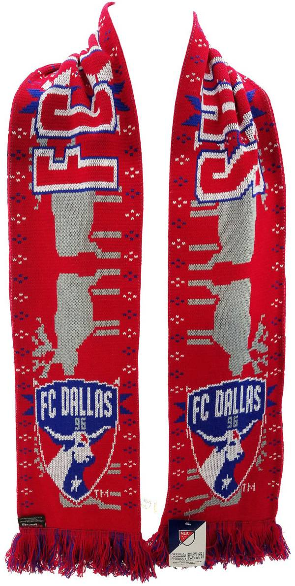 Ruffneck Scarves FC Dallas Ugly Sweater Scarf product image
