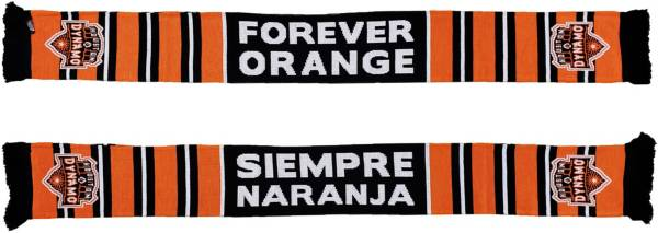 Ruffneck Scarves Houston Dynamo Forever Orange Jacquard Knit Scarf product image