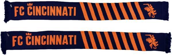 Ruffneck Scarves FC Cincinnati Diagonals Jacquard Knit Scarf product image