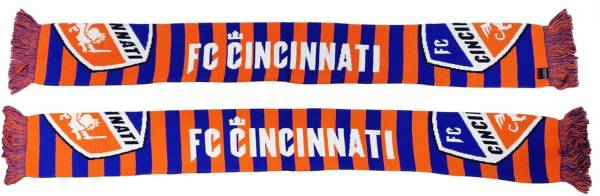Ruffneck Scarves FC Cincinnati Bar Scarf product image