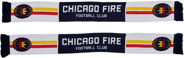 Ruffneck Scarves Chicago Fire FC Racing Stripes Jacquard Knit Scarf product image