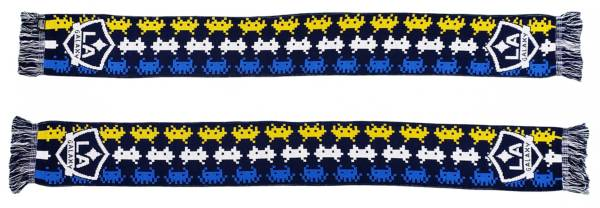 Ruffneck Scarves LA Galaxy Invader Jacqurd Knit Scarf product image