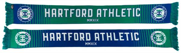 Ruffneck Scarves Hartford Athletic Gradient HD Knit Scarf product image