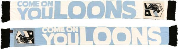 Ruffneck Scarves Minnesota United FC Come On You Loons Jacquard Knit Scarf product image