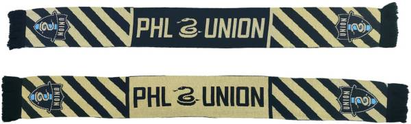 Ruffneck Scarves Philadelphia Union Diagonals Jacquard Knit Scarf product image