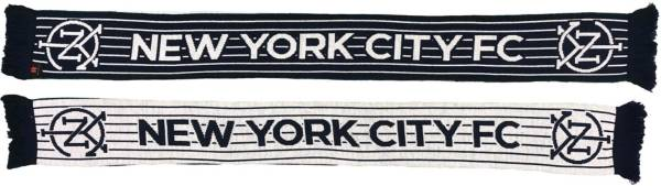 Ruffneck Scarves New York City FC Pintstripes Jacquard Knit Scarf product image