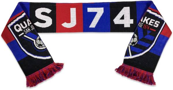 Ruffneck Scarves San Jose Earthquakes '74 Bar Scarf product image