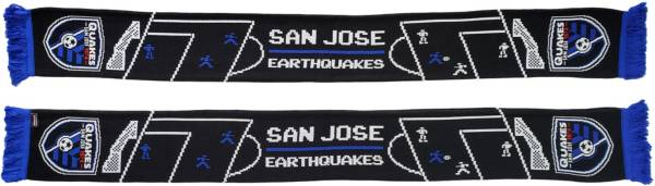 Ruffneck Scarves San Jose Earthquakes 8-Bit Scarf product image