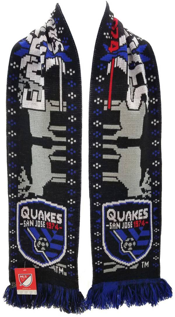 Ruffneck Scarves San Jose Earthquakes Ugly Sweater Scarf product image