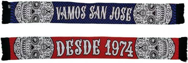 Ruffneck Scarves San Jose Earthquakes Vamos San Jose HD Knit Scarf product image