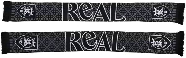 Ruffneck Scarves Real Salt Lake Blackout HD Knit Scarf product image