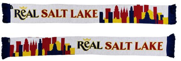 Ruffneck Scarves Real Salt Lake Modern Skyline HD Knit Scarf product image
