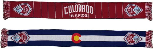 Ruffneck Scarves Colorado Rapids State Flag Jacquard Knit Scarf product image