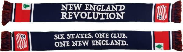 Ruffneck Scarves New England Revolution Six States Jacquard Knit Scarf product image