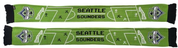 Ruffneck Scarves Seattle Sounders 8-Bit Scarf product image