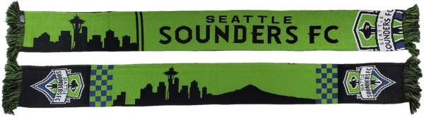 Ruffneck Scarves Seattle Sounders Skyline Scarf product image