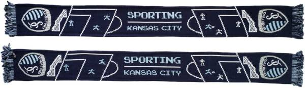 Ruffneck Scarves Sporting Kansas City 8-Bit Scarf product image