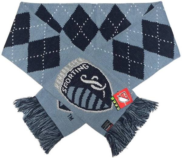 Ruffneck Scarves Sporting Kansas City Argyle Scarf product image