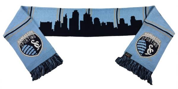 Ruffneck Scarves Sporting Kansas City Skyline Scarf product image
