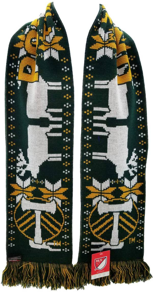 Ruffneck Scarves Portland Timbers Ugly Sweater Scarf product image