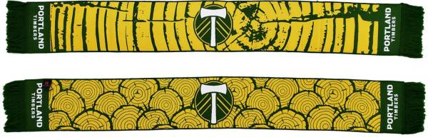Ruffneck Scarves Portland Timbers Tree Rings HD Woven Scarf product image