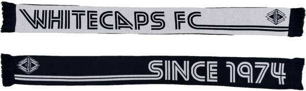 Ruffneck Scarves Vancouver Whitecaps Since 1974 Retro HD Knit Scarf product image