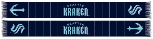 Ruffneck Scarves Seattle Kraken Pinstripe Scarf product image