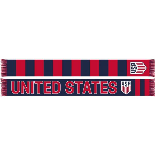 Ruffneck USA Soccer Hoops Jacquard Knit Scarf product image