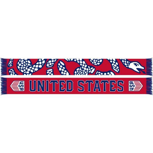 Ruffneck USA Soccer Snake Jacquard Knit Scarf product image