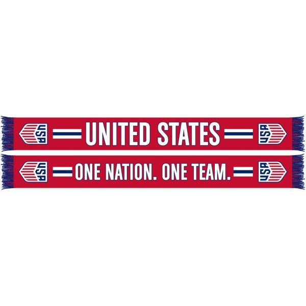 Ruffneck USA Soccer Red One Nation Jacquard Knit Scarf product image