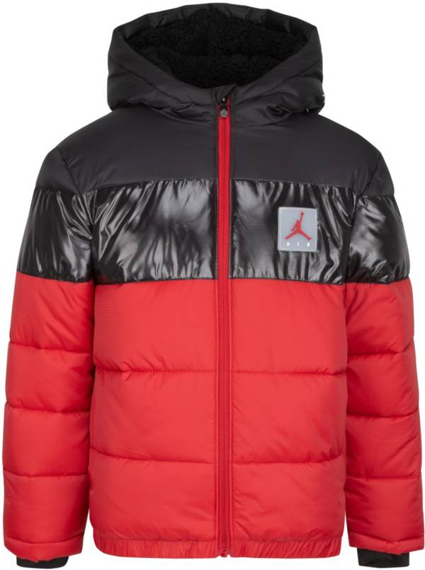 Jordan Boys' Bold Stripe Full-Zip Puffer Jacket product image