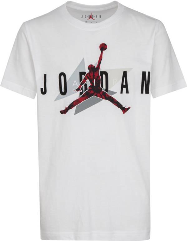 Jordan Boys' AJ6 Carmine Geo Short Sleeve T-Shirt product image