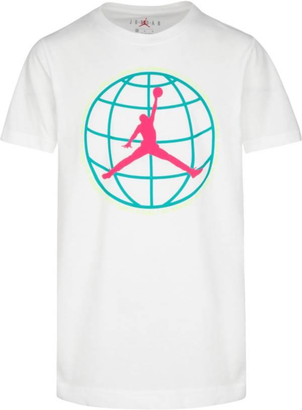 Jordan Boys' Mountainside Globe Jumpman Logo T-Shirt product image