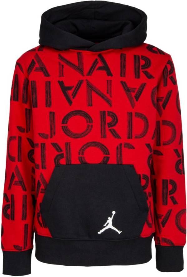 Jordan Boys' Air Jordan Stencil Pullover Hoodie product image