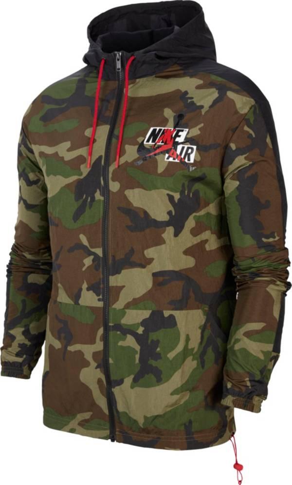 Jordan Men's Jumpman Classics Camo Windbreaker Jacket product image