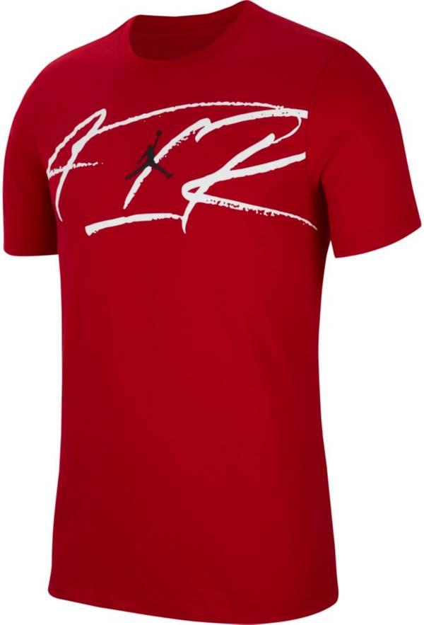Jordan Men's Dri-FIT Air Script Graphic T-Shirt product image