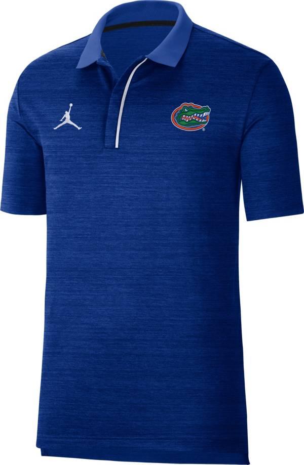 Nike Men's Florida Gators Blue Sideline Performance Polo product image