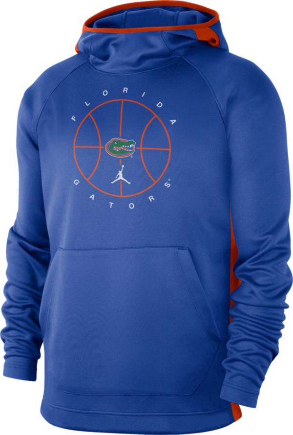 Jordan Men's Florida Gators Blue Spotlight Basketball Pullover Hoodie product image