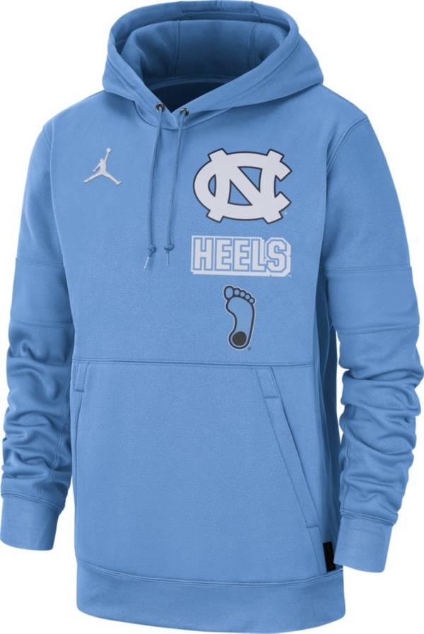 Jordan Men's North Carolina Tar Heels Carolina Blue Therma Local Pullover Hoodie product image