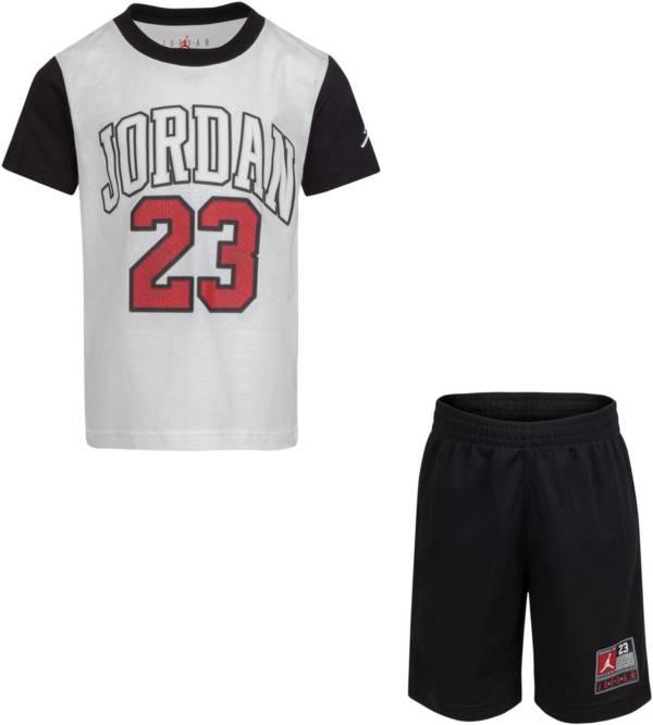 Jordan Boys' 23 Short Sleeve T-Shirt and Shorts Set product image