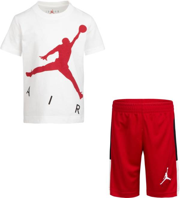 Jordan Boys' Air Short Sleeve T-Shirt and Shorts Set product image