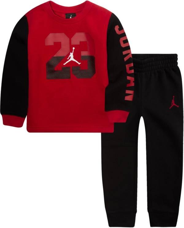Jordan Toddler Boys' Fleece Crewneck Sweatshirt and Jogger Pants Set product image
