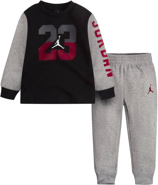 Jordan Toddler Boys' Fleece Crewneck Sweatshirt and Jogger Pants Set product image