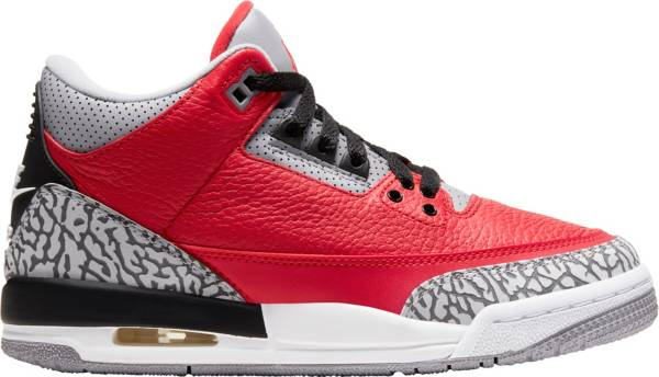 Jordan Kids' Grade School Air Jordan Retro 3 Basketball Shoes product image
