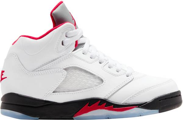 Jordan Kids' Preschool Air Jordan 5 Retro Basketball Shoes product image