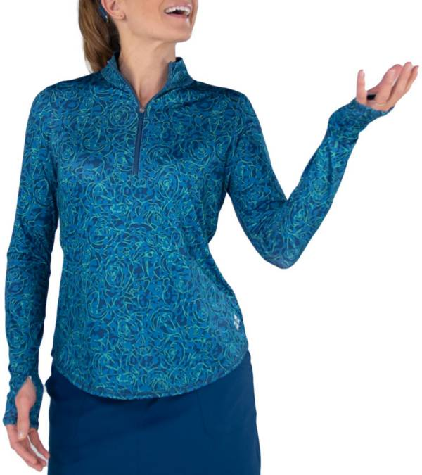 Jofit Women's Mock Neck Long Sleeve Golf Pullover product image