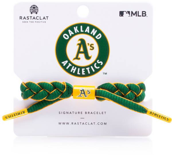 Rastaclat Oakland Athletics Infield Braided Bracelet product image
