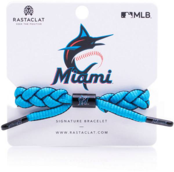 Rastaclat Miami Marlins Infield Braided Bracelet product image