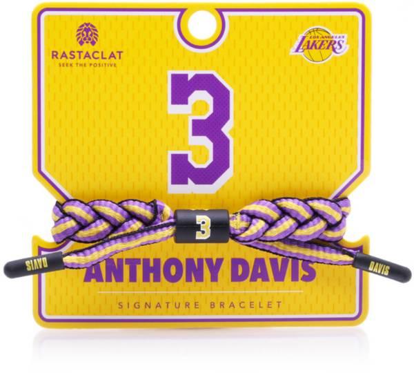 Rastaclat Los Angeles Lakers Anthony Davis Braided Bracelet product image