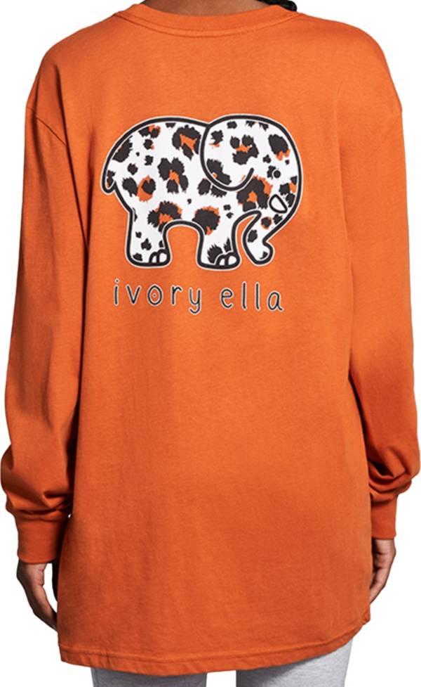 Ivory Ella Women's Big Cat Long Sleeve T-Shirt product image